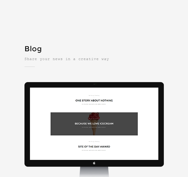 Berger - WordPress Creative Agency Portfolio Theme