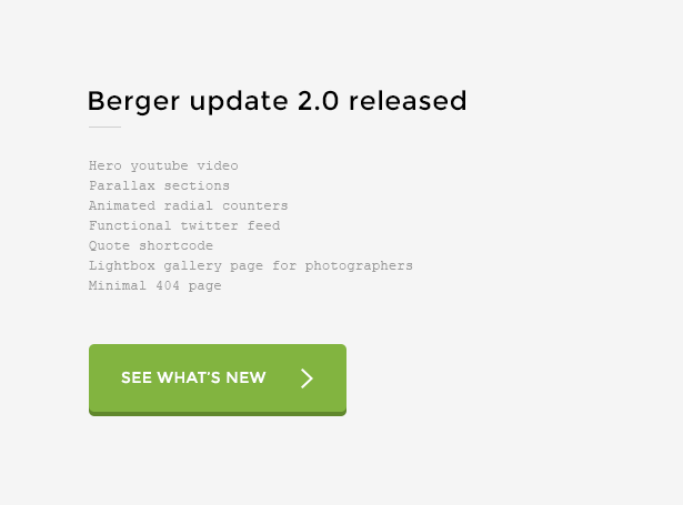 Berger - Creative Agency Portfolio Template