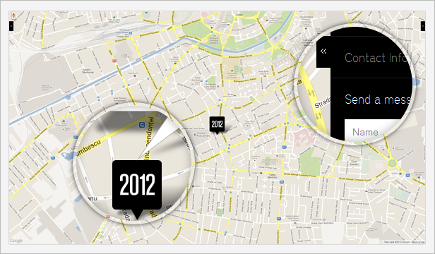 2012 - Metro Style Responsive Template