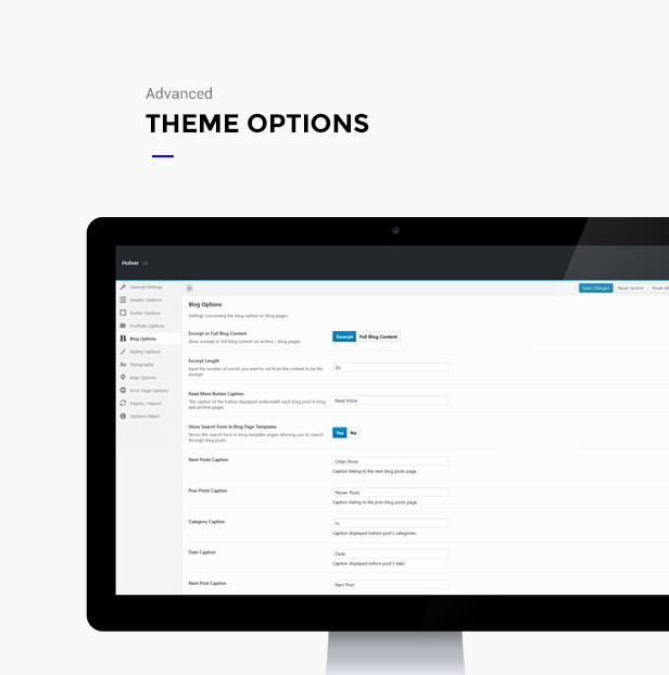 minimal portfolio holver wordpress theme