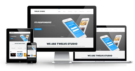 Twelve Studio - Responsive Multipurpose Template