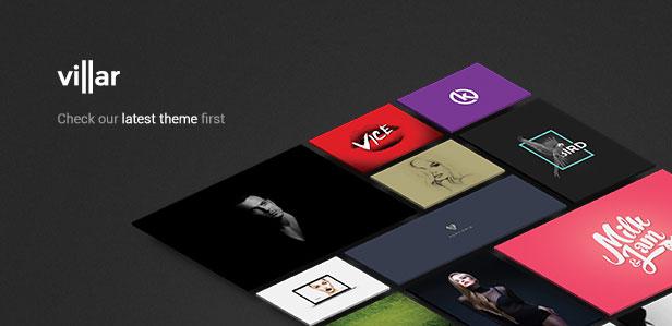 minimal portfolio enfolio wordpress theme